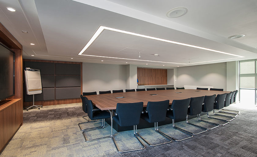 Boardroom refurbishment for the Business and Management School